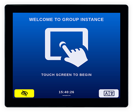 arrive-screen-touch